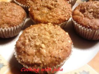 Muffin croccanti alle pere