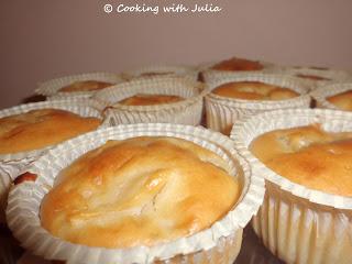 Muffin alle mele e limone senza uova e senza burro