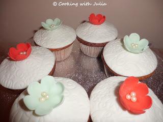 Flower cupcakes per il Contest Le Tortine
