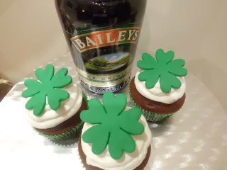 St. Patrick day –  Baileys Cupcakes