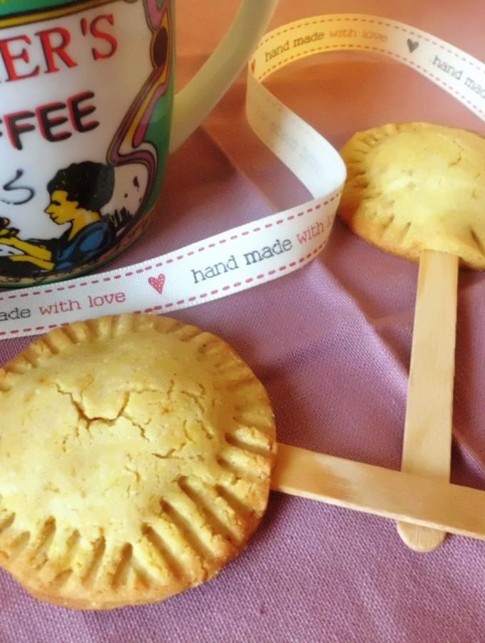 Cookie pops o Biscotti sullo stecco