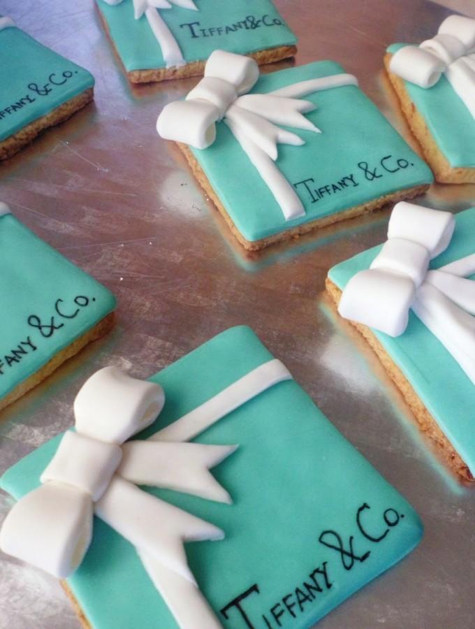Tiffany & Co. cookies