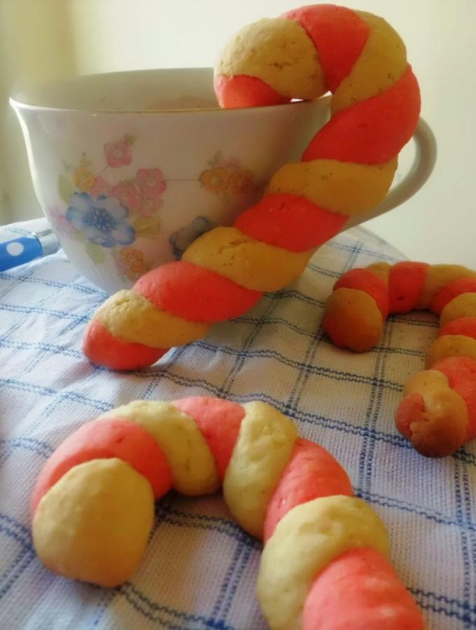 Candy cane cookies – #idea per la colazione di Natale
