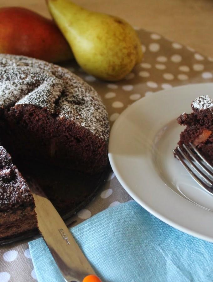 Torta di pere e cacao – gluten free