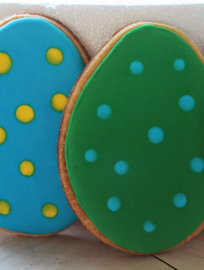 Biscotti ovetto di Pasqua – Easter eggs cookie – tutorial