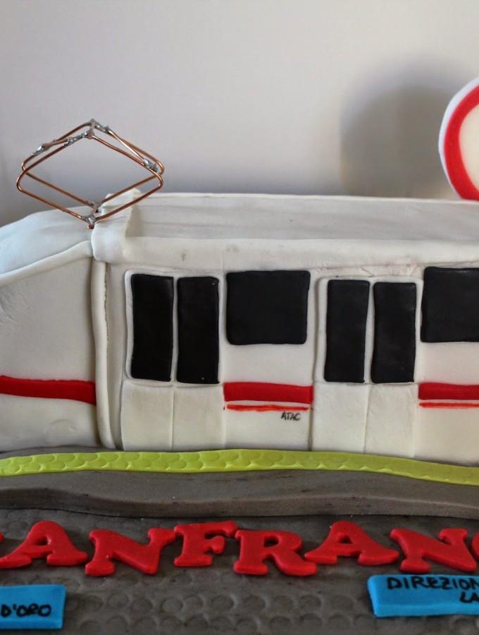 Torta Metropolitana – Underground cake