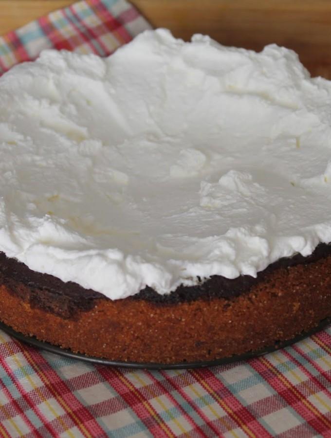 Cheesecake al cioccolato fondente e Guinness