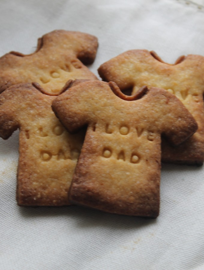 Biscotti di frolla per la festa del Papà