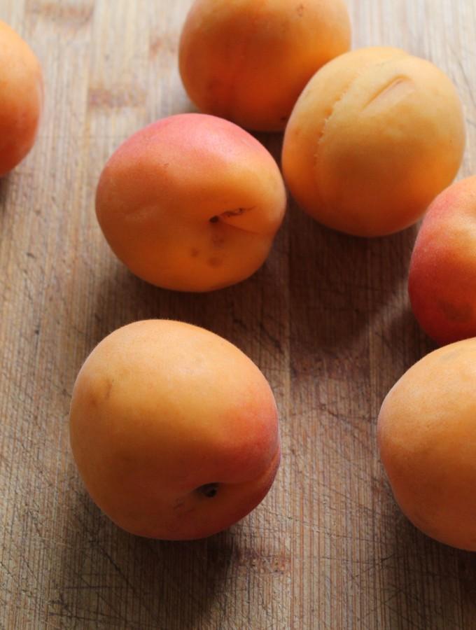 Clafoutis di albicocche e rosmarino