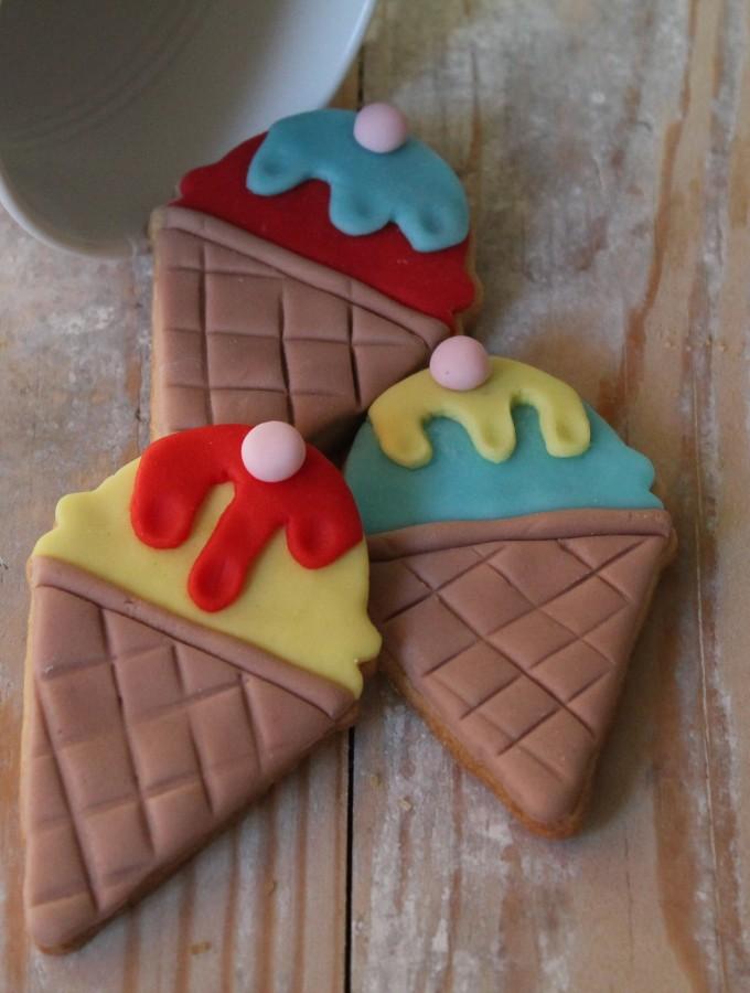 Ice cream cookies – biscotti gelato