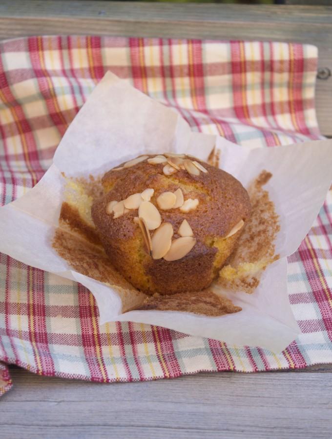 Muffin alla zucca&mela e il mio amico Bruce