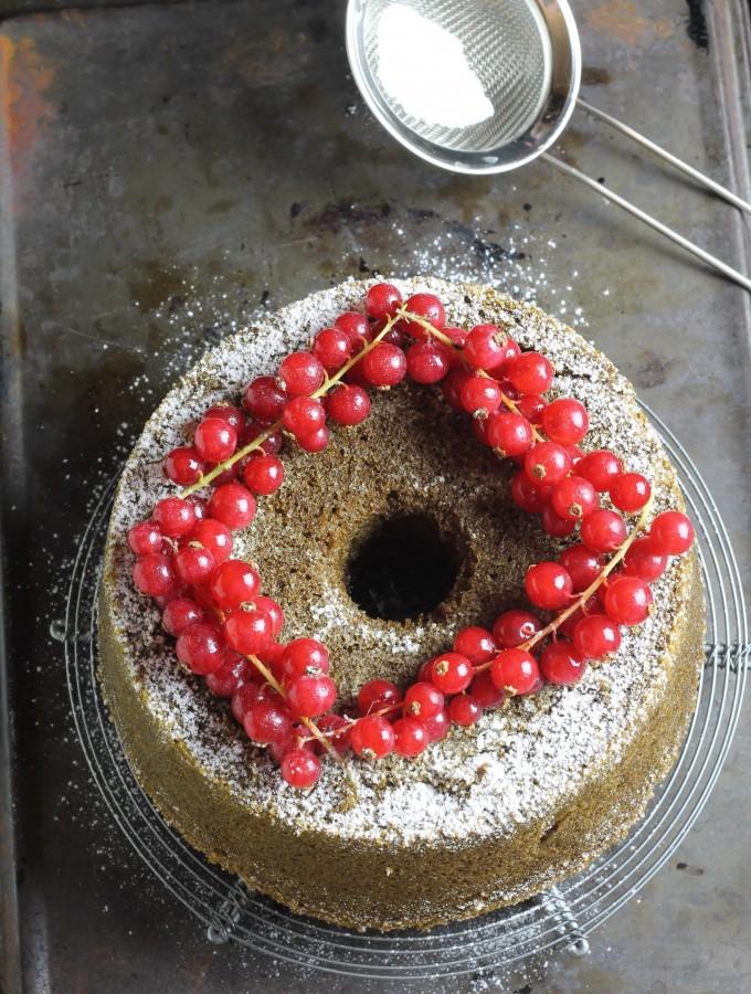 Chiffon cake al thè matcha #iomangiolafluffosa