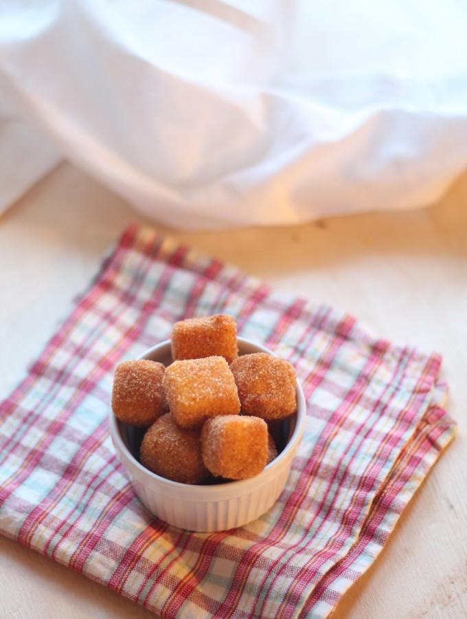 Finger food – Cubetti di feta fritta