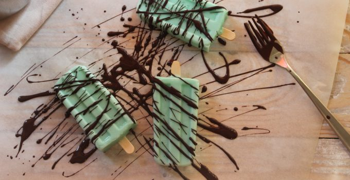 After Eight ice pops