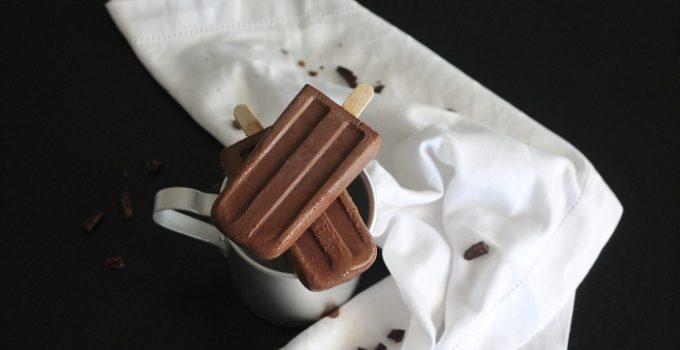 Ghiacciolo al cioccolato