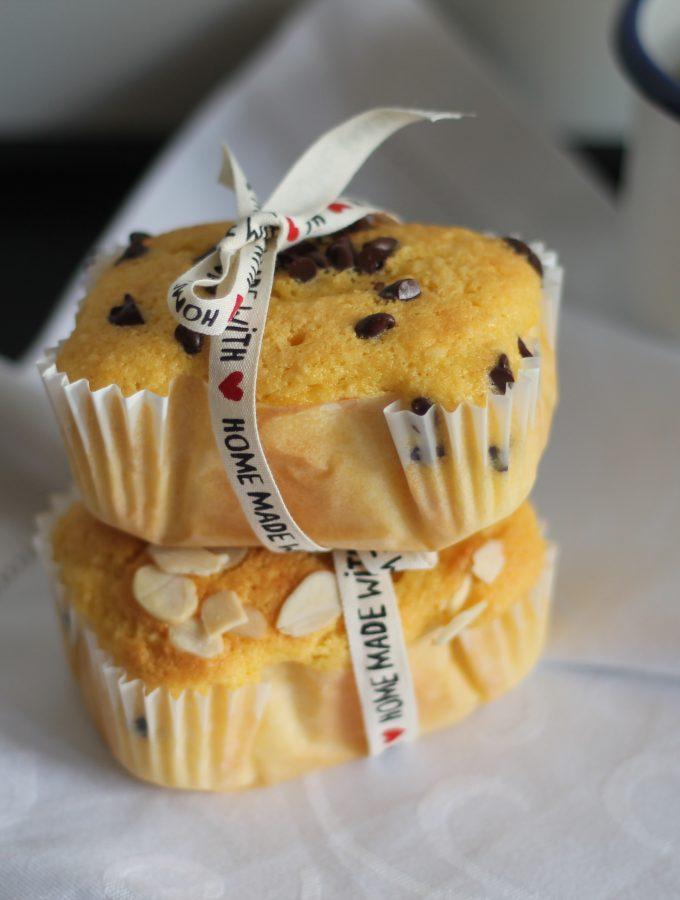 Mini plumcake alla zucca e mandorle