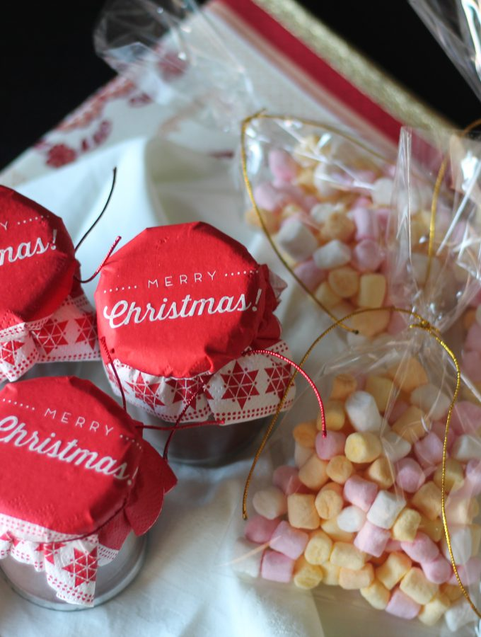 Cioccolata calda fatta in casa – idea regalo di Natale