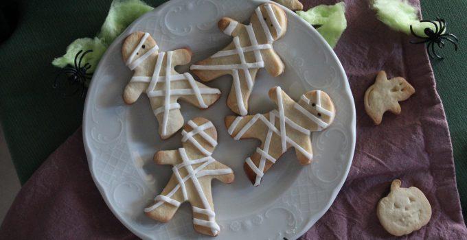 Biscotti mummia – idea facile per Halloween